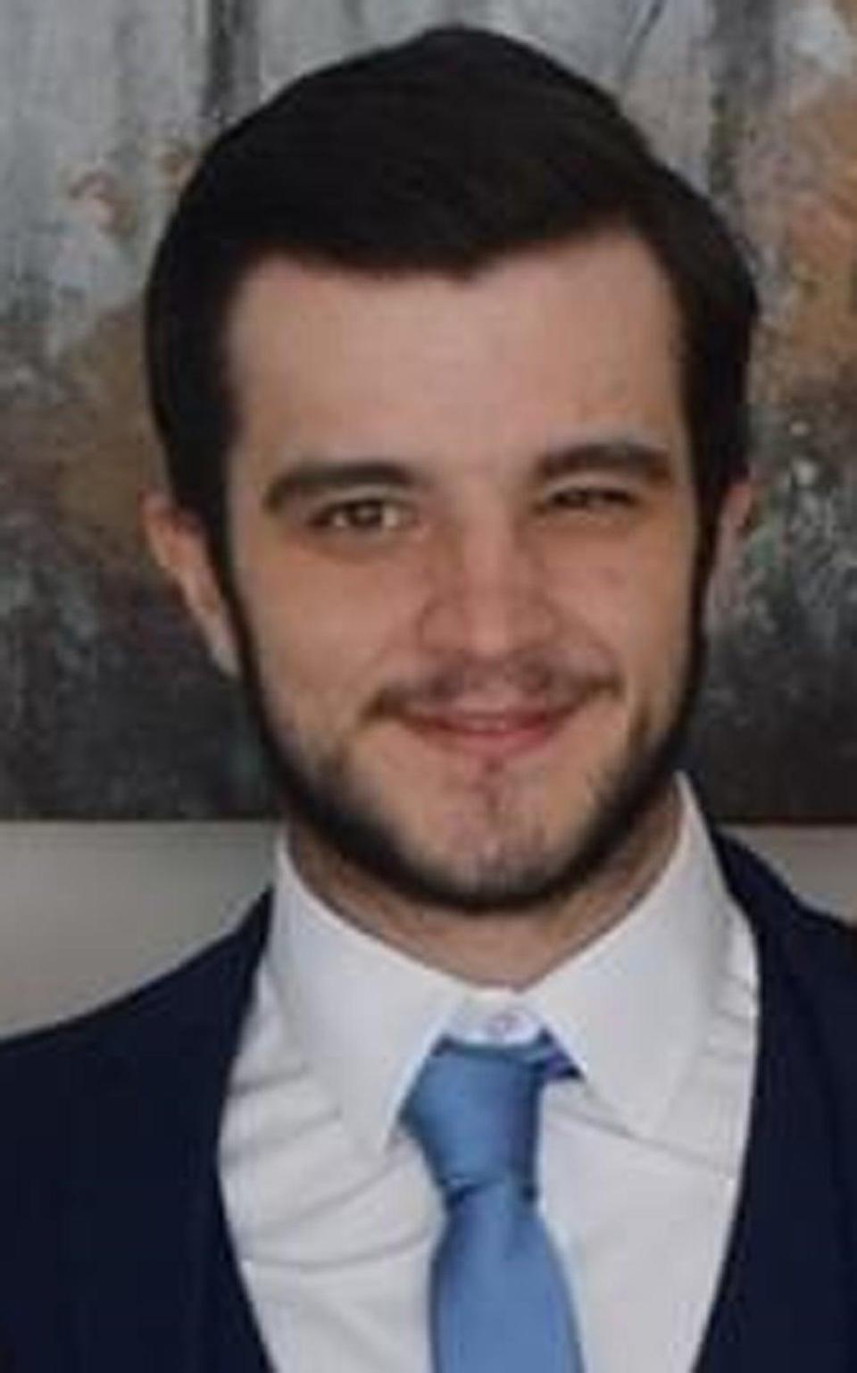 Sean McKay, 23, was attacked in Dalry, Ayreshire, on Sunday (Scotland Police/ PA Wire)