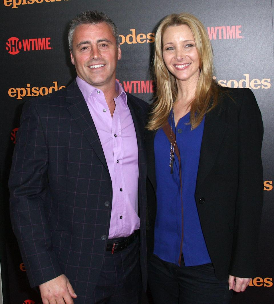 <p>Kudrow came out in force to support her former co-star for the premiere of his show Episodes in West Hollywood.</p>