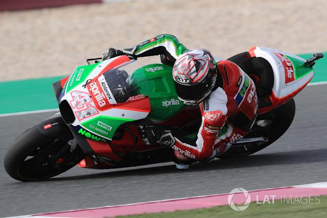 "Aleix Espargaró (Aprilia Racing Team Gresini) <span class=""copyright"">Gold and Goose / Motorsport Images</span>"