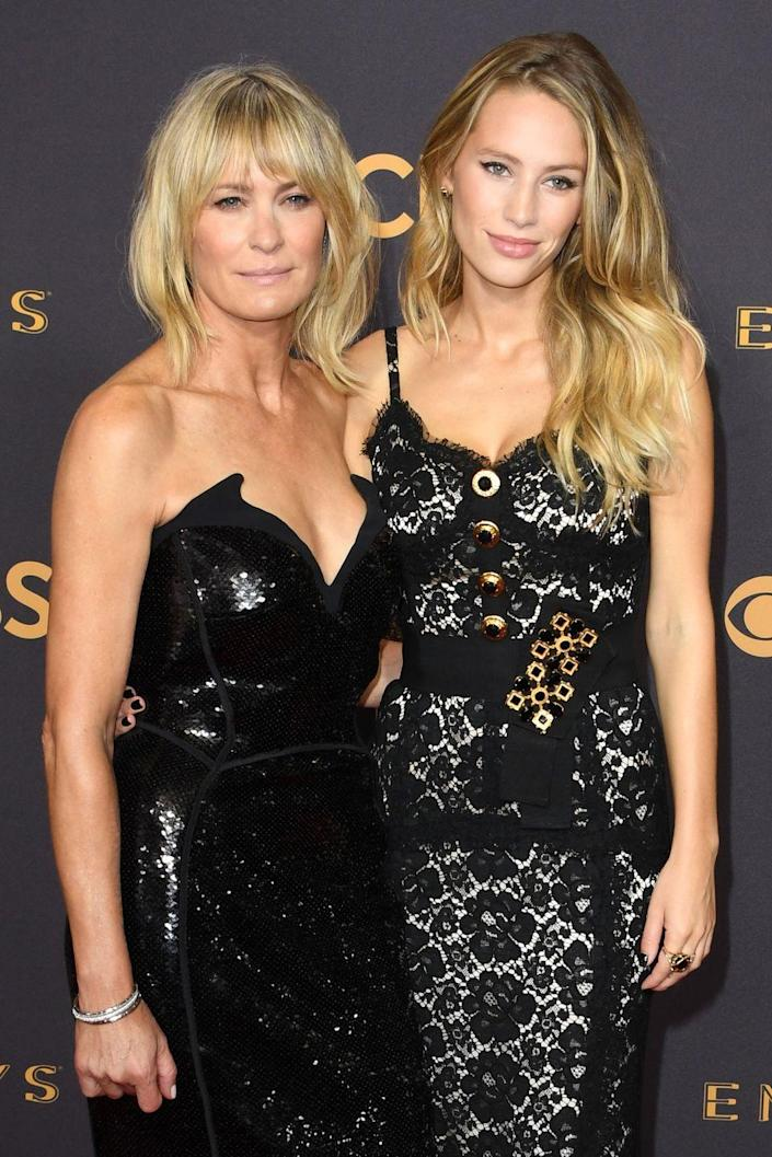 <p>Now, the 28-year-old is a model (which you probably could have guessed), and recently accompanied her mom to the Emmys.</p>