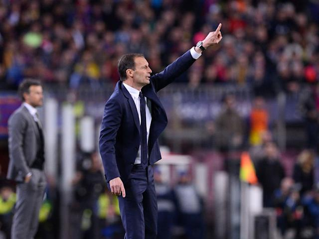 Massimo Allegri is on course to win a third straight Serie A with Juventus (Getty)