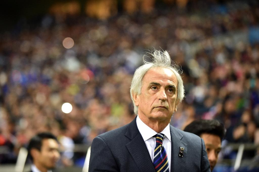 "Japan's football coach Vahid Halilhodzic warns his players not to get ""silly"" in their World Cup qualifying campaign (AFP Photo/KAZUHIRO NOGI)"