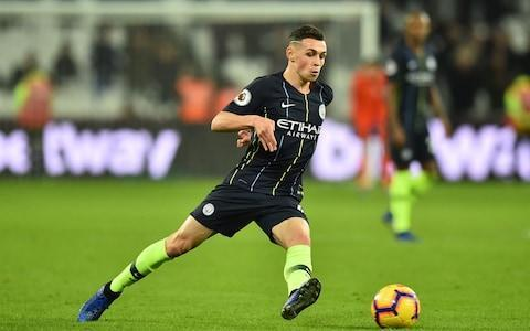 <span>Foden has made seven appearances off the bench in the league for City this season</span> <span>Credit: AFP </span>