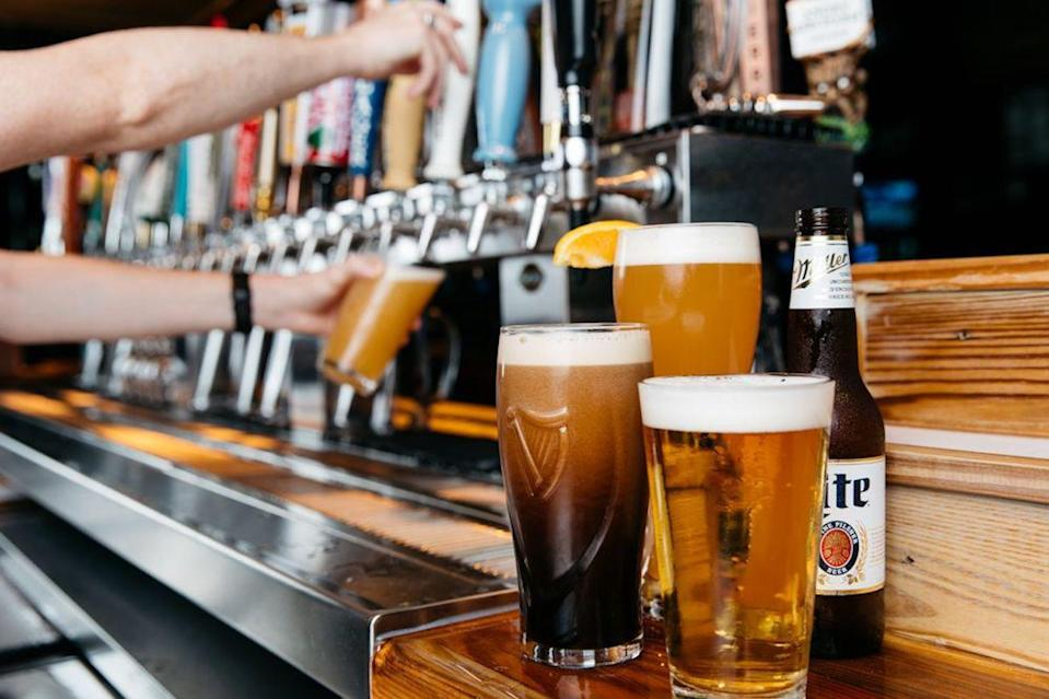 <p>Select Miller's Alehouse locations have reopened for dine-in. New precautions include limited occupancy, table spacing, no indoor waits, specific routes to restrooms and exits, disposable menus, marked floors and non-medical-grade masks for team members.</p>
