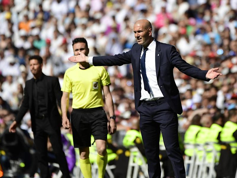 Zidane knows the pressure is increasing (Getty)