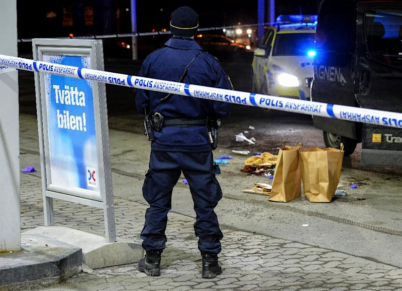 According to a study from the Swedish Crime Prevention Council (BRA), the vast majority of crimes in the country are committed by the native Swedish population (AFP Photo/Johan Nilsson/TT)