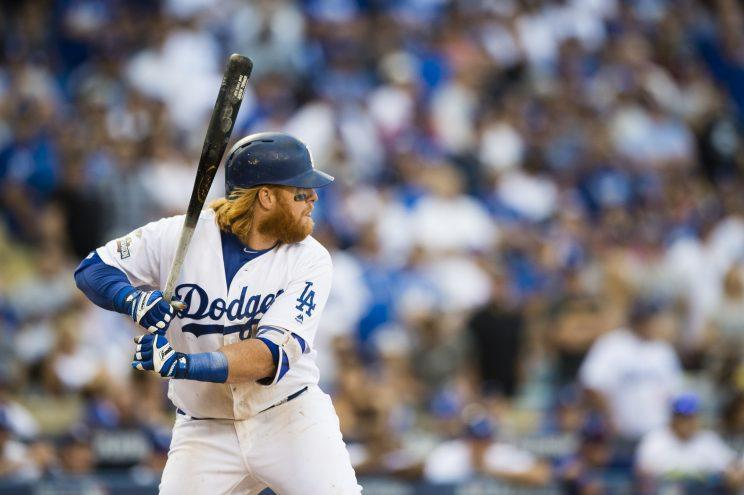 Justin Turner is taking his talents back to Los Angeles. (Getty Images/Patrick McDermott)