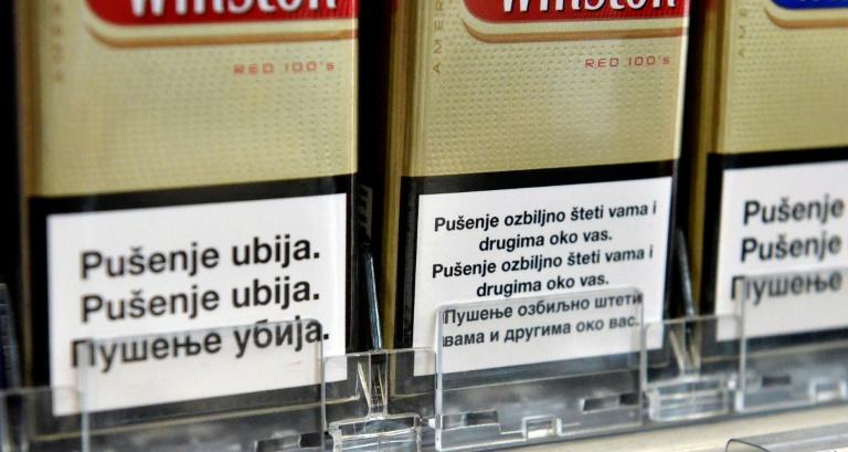 Many see the linguistic distinction that means warnings on cigarette packets in Bosnia are given in three official languages as artifical and nationalistic