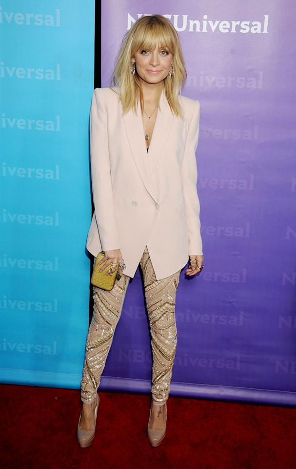 "<a href=""/nicole-richie/contributor/1150482"">Nicole Richie</a> (""<a href=""/fashion-star/show/47285"">Fashion Star</a>"") attends the 2012 NBC Universal Winter TCA All-Star Party at The Athenaeum on January 6, 2012 in Pasadena, California."