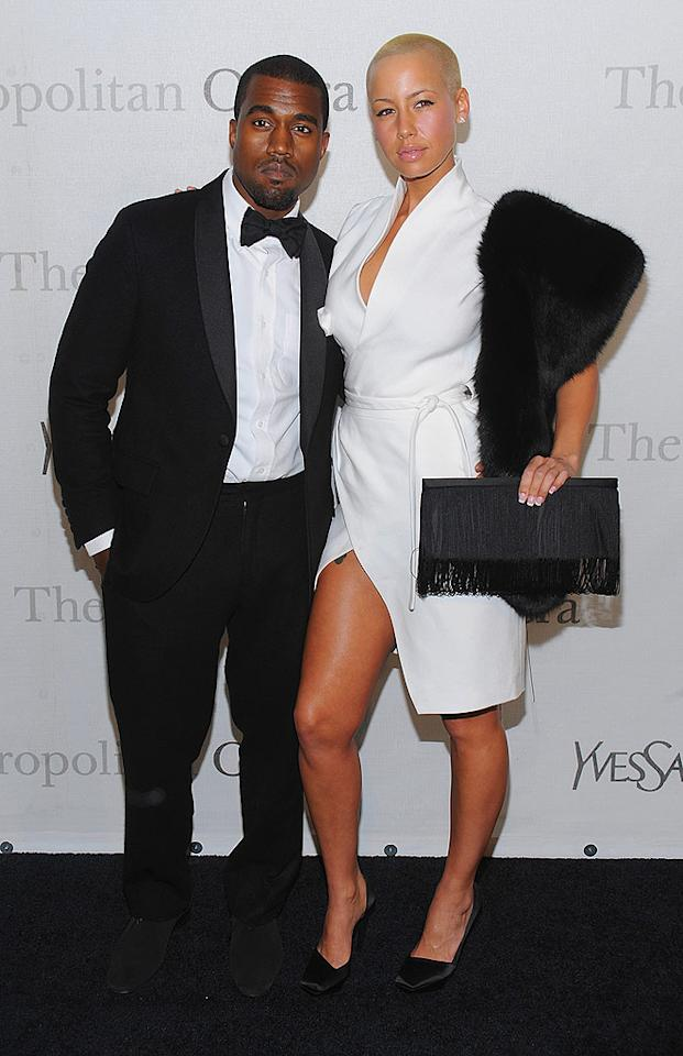 """This is the first time we've seen Kanye West's girlfriend Amber Rose without sunglasses. She's definitely striking, but her taste in accessories is questionable. Dimitrios Kambouris/<a href=""""http://www.wireimage.com"""" target=""""new"""">WireImage.com</a> - March 15, 2009"""