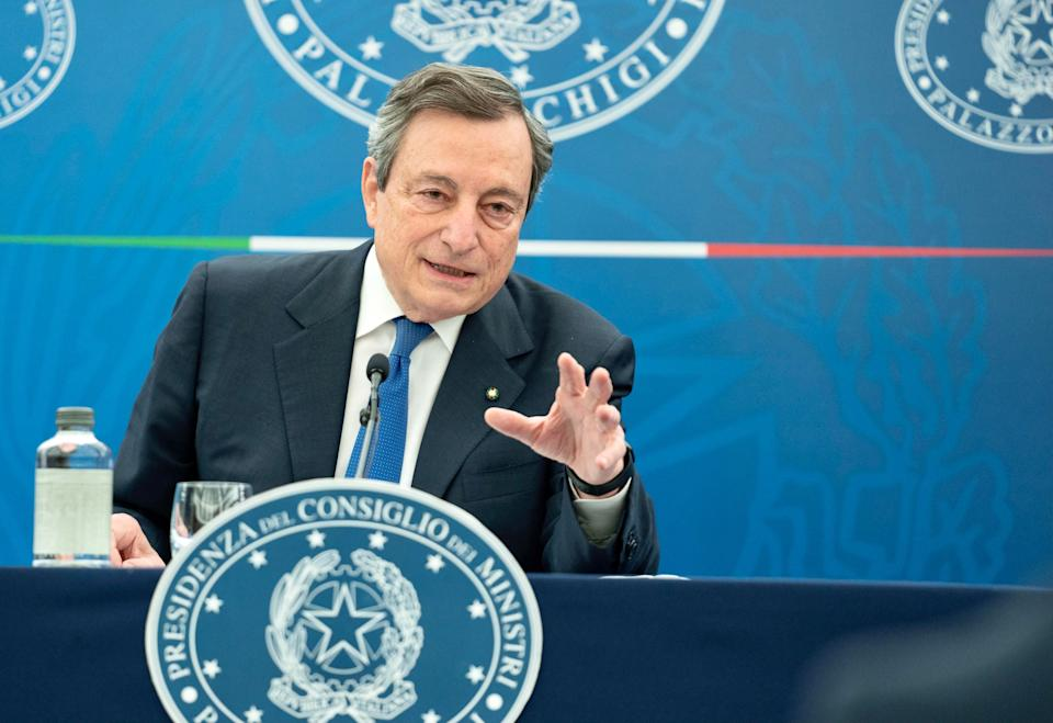 Mario Draghi (Photo: CHIGI PALACE PRESS OFFICEANSA)