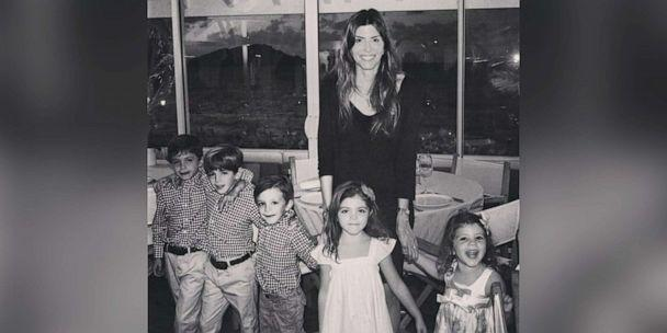 PHOTO: Jennifer Dulos, 50, of Connecticut, is pictured with her five children in an undated family photo. (Family of Jennifer Dulos)