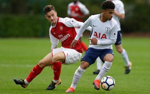 <span>The first of many north London derbies for Marcus Edwards?</span> <span>Credit: Getty Images </span>