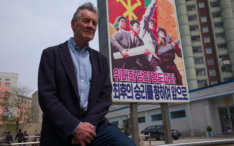The two-part documentary, 'Michael Palin in North Korea', will air on Channel 5 on Thursday 20 September at 9pm. - Channel 5