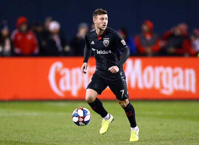 D.C. United announced Saturday that Paul Arriola would miss the entire 2020 MLS season. (Vaughn Ridley/Getty)