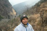 """The construction of more dams and roads in India's fragile Himalayan region will be """"fought tooth and nail"""", said Surinder Singh"""