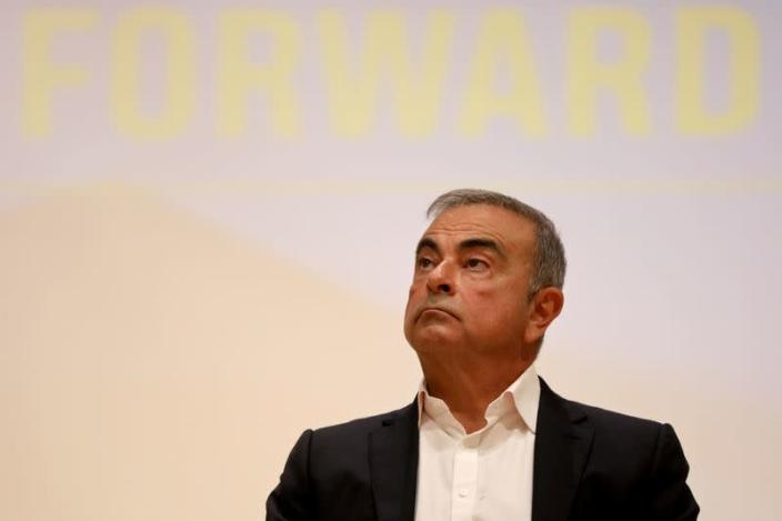 FILE PHOTO: Carlos Ghosn to unveil ambitions plan to help Lebanon economy