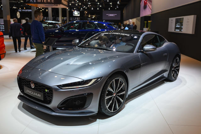 Jaguar is reported to be in talks with the UK government about a loan Photo: Getty