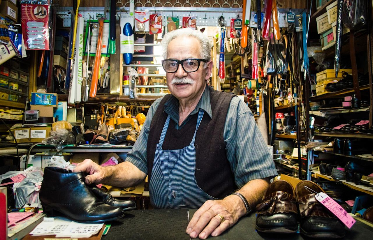 <p>No. 8 lowest-paid job: Shoe repairer and shoemaker<br />Average full-time hourly wage: $13.65<br />(Fran Polito / Getty Images) </p>