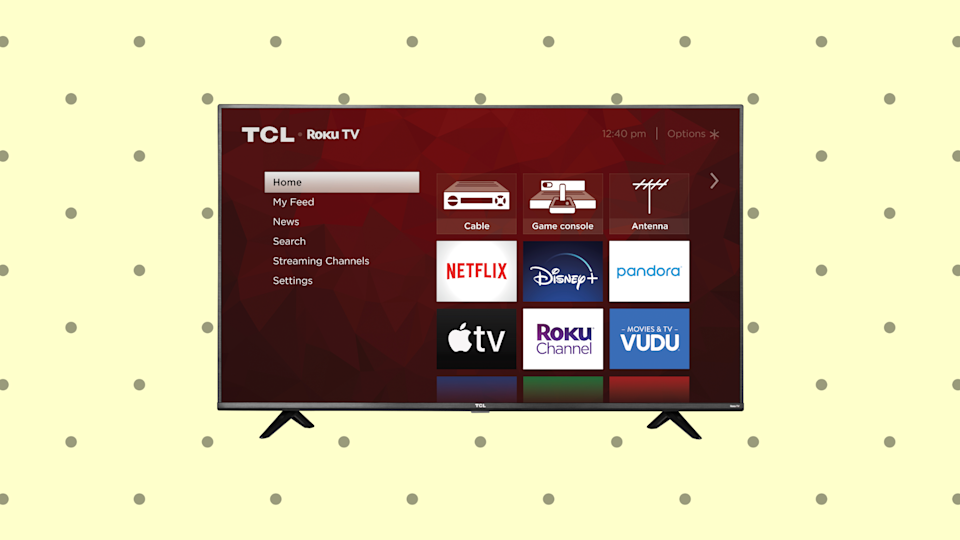 Save 33 percent on this TCL 40-inch FHD Smart LED Roku TV (40S325). (Photo: Amazon)