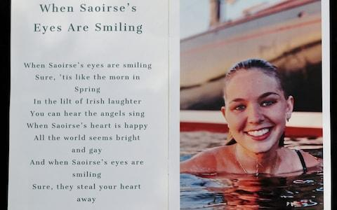 Saoirse Kennedy Hill had spoken publicly about her mental health struggles - Credit: David L Ryan/The Boston Globe