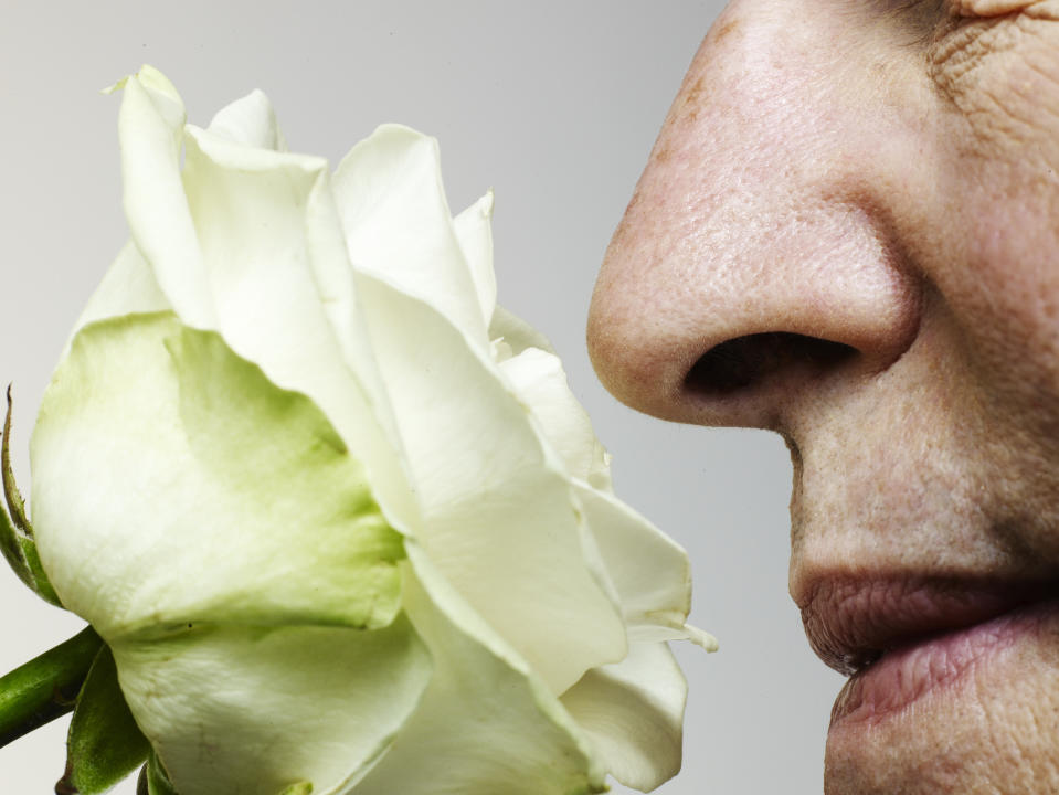 <p>Smell naturally declines with age, possibly due to a loss of nerve endings. (Stock, Getty Images)</p>