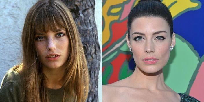 <p>This as our official plea for Jessica Paré to play Jane Birkin on screen. One was a '70s fashion icon and the other played a '70s housewife on <em>Mad Men</em>, but both are essentially carbon copies of one another.</p>