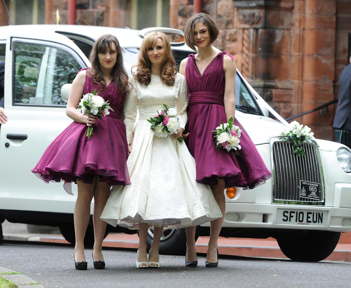 <p>As any good bridesmaid knows, it's not about you-it's about the bride. And yes, this goes even for celebrities. While they're typically in the spotlight, these women took to the sides of their favorite brides to help celebrate their big days. Take a look at these star bridesmaid photos.</p>
