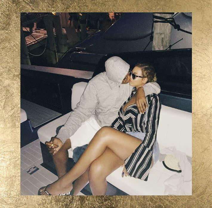 Jay Z and Beyonce on Yacht