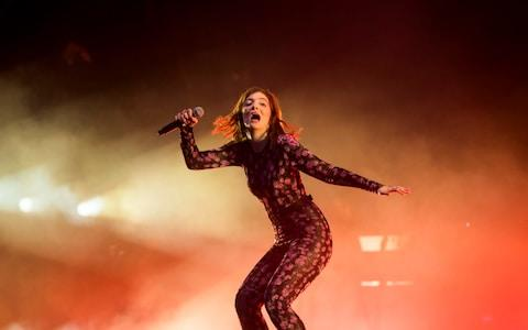 Lorde performs at Glastonbury Festival in 2017 - Credit: Paul Grover