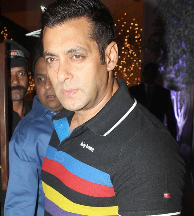 Salman Khan who is riding high on the success of Dabangg 2 arrives