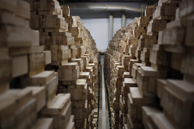 These Two Lumber Giants Are Limbering up for a Merger