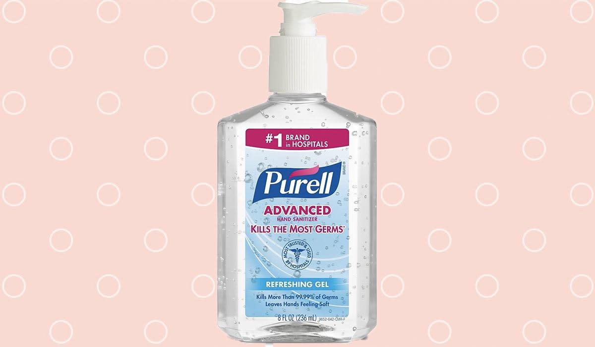 Don't fall for any cheap, or expensive, imitations: Purell was the first, and is still the best, player in the hand-sanitizing game. (Photo: Amazon)