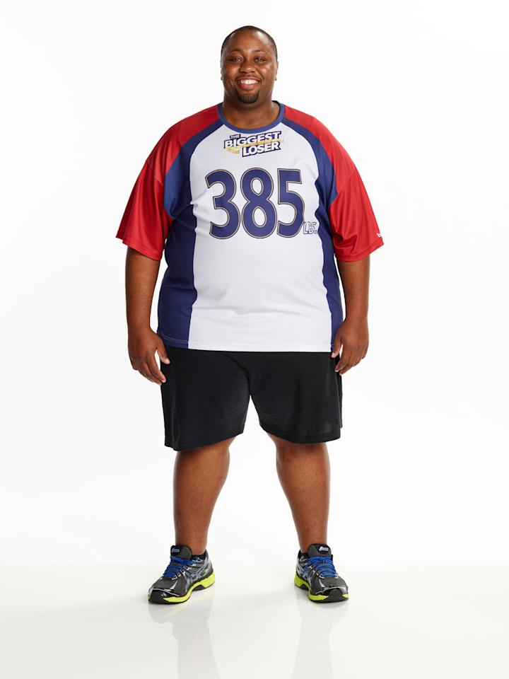 "Craig Arrington competes on NBC's ""The Biggest Loser"" Season 15."
