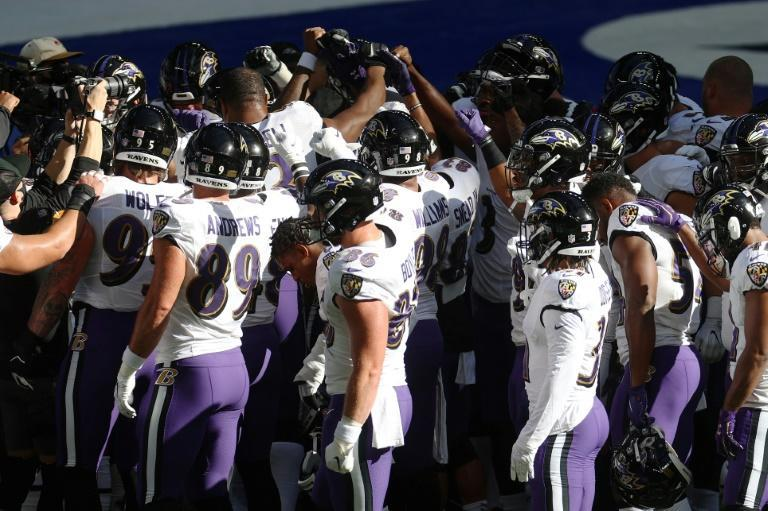 The NFL's Baltimore Ravens say another of their players has tested positive for Covid-19
