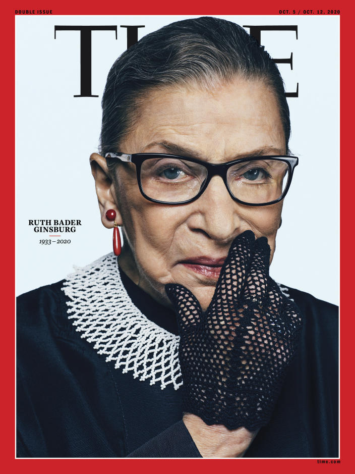Ruth Bader Ginsburg Time Magazine Cover