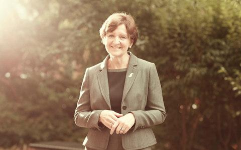 Hilary French, headmistress of Newcastle High School for Girls - Credit: RYAN EDY