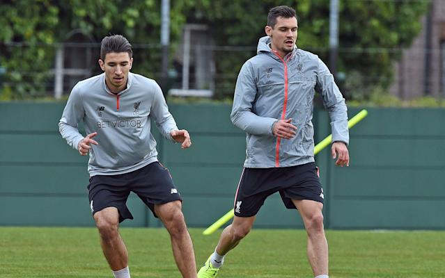 <span>Dejan Lovren continues his recovery from injury</span> <span>Credit: Getty Images </span>