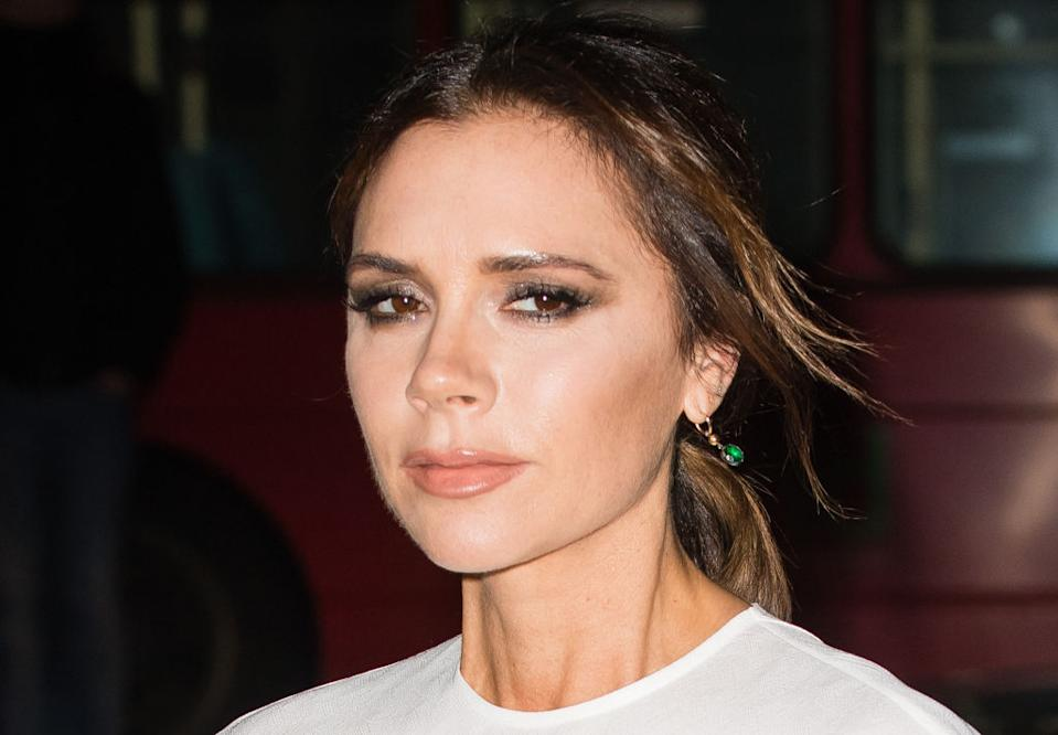 Couple of 19 years David and Victoria Beckham share