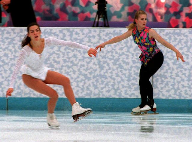 <p>No list of Olympic scandals would be complete without a retelling of the story of Tonya Harding's ex-husband Jeff Gillooly taking a lead pipe to the knee of rival skater Nancy Kerrigan just weeks before the 1994 Games. Kerrigan recovered and went on to take the silver while Harding was banned from the sport for life. </p>