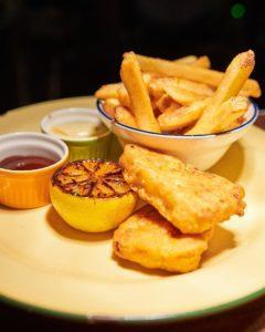 The Fishless N Chips (S). Image: Three Buns