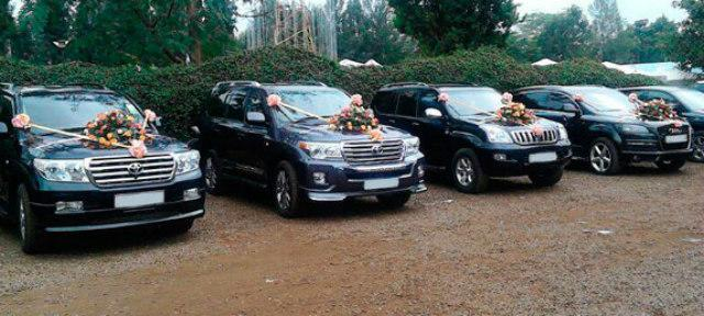 Toyota Land Cruiser bridal car