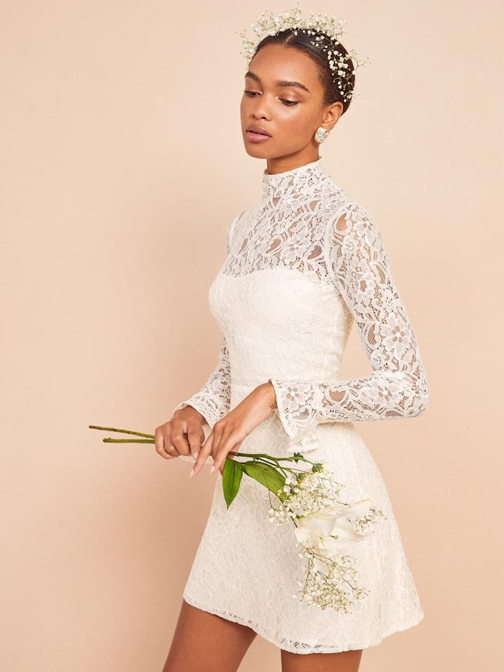 """<p>This <a href=""""https://www.popsugar.com/buy/Reformation-Carraway-Dress-579973?p_name=Reformation%20Carraway%20Dress&retailer=thereformation.com&pid=579973&price=298&evar1=fab%3Aus&evar9=33517892&evar98=https%3A%2F%2Fwww.popsugar.com%2Ffashion%2Fphoto-gallery%2F33517892%2Fimage%2F47532445%2FReformation-Carraway-Dress&list1=shopping%2Csummer%2Clace%2Csummer%20fashion&prop13=api&pdata=1"""" rel=""""nofollow"""" data-shoppable-link=""""1"""" target=""""_blank"""" class=""""ga-track"""" data-ga-category=""""Related"""" data-ga-label=""""https://www.thereformation.com/products/carraway-dress?color=Ivory&amp;glCountry=US&amp;glCurrency=USD&amp;gclid=EAIaIQobChMIpZGVuunr6QIVWx-tBh2e2AGUEAQYCiABEgIzgPD_BwE"""" data-ga-action=""""In-Line Links"""">Reformation Carraway Dress</a> ($298) is so gorgeous and sophisticated.</p>"""