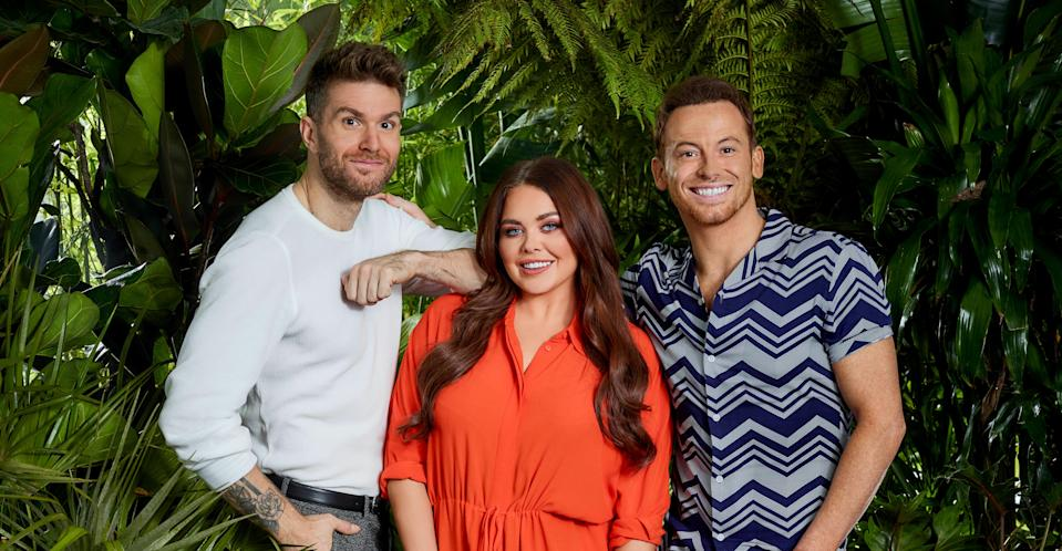 This year's I'm a Celebrity: Extra Camp hosts revealed. (ITV)