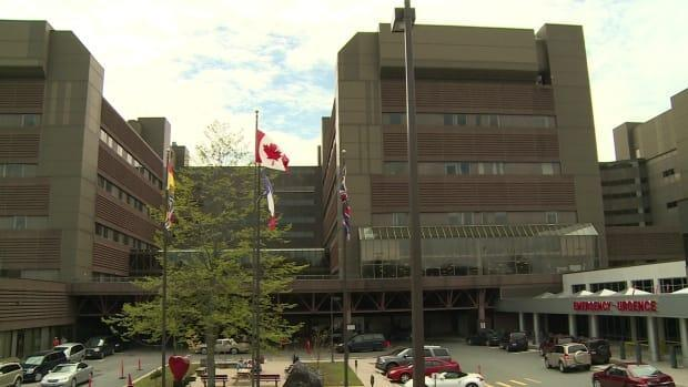 The Saint John Regional Hospital is experiencing high volumes at its emergency room. (CBC News file photo - image credit)