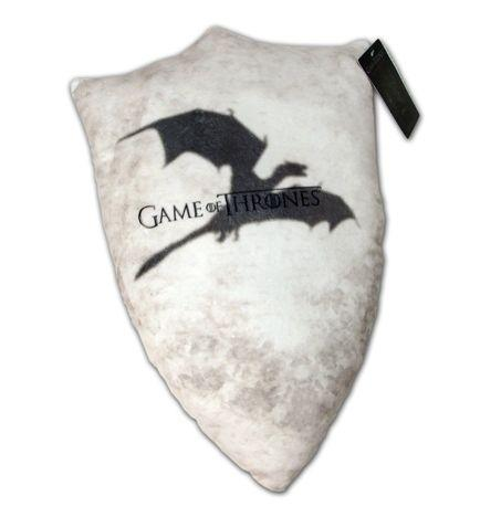 """""""After a hard day hacking off limbs, defending The Wall, or attempting to usurp a Royal you will need to relax in style and comfort. So bring a touch of Westeros to your throne, chair or couch <a href=""""http://www.factoryent.com/Game-Of-Thrones-Throw-Pillow-SDCC-2013-p/408369.htm"""" target=""""_blank"""">with this super-soft pillow.</a>"""""""