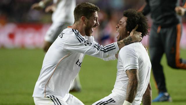 Ramos Marcelo Real Madrid