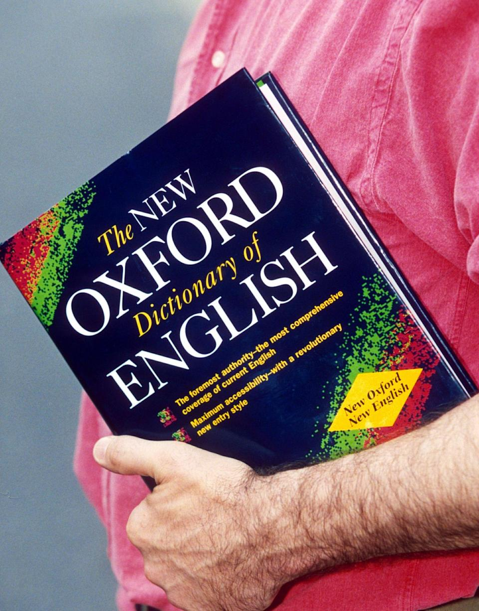 <em>Words – each year Oxford Dictionaries chooses a word of the year (Picture: Rex)</em>