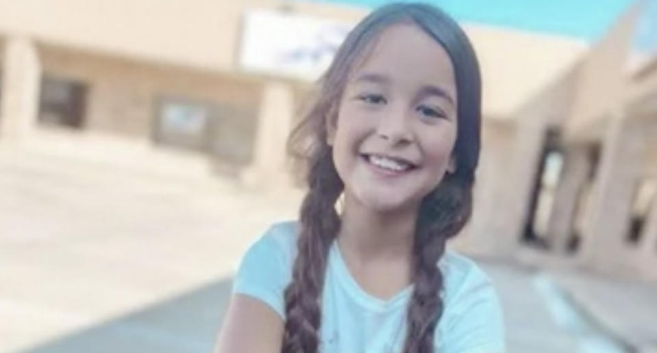 Chloe Shelton, 8, is pictured.