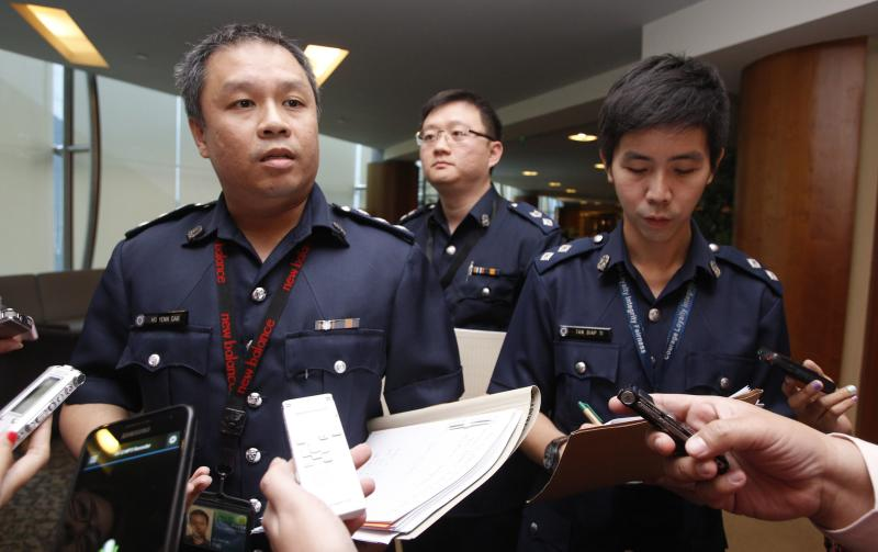 S'pore police are helping Europol on the global matchfixing probe. (Reuters photo)